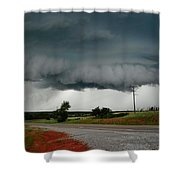 Oklahoma Wall Cloud Shower Curtain