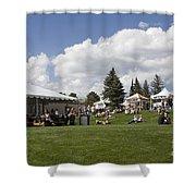Oktoberfest Woodland Park 2014 Shower Curtain