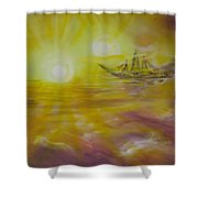 Ol' Ship Of Zion Shower Curtain