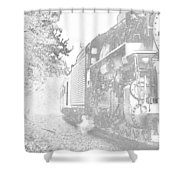 Old 765 Shower Curtain
