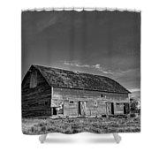 Old Abandoned Barn - D Rd Nw - Douglas County - Washington - May 2013 Shower Curtain