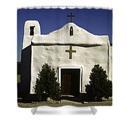 Old Adobe Church Shower Curtain