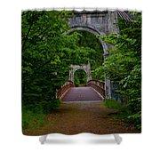 Old Alexandra Bridge Shower Curtain