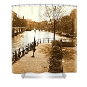 Old Amsterdam Shower Curtain