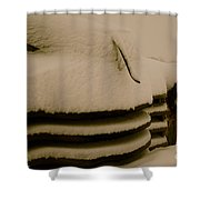 Old And Cold Shower Curtain