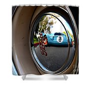 Old And New Ford Hotrods Shower Curtain
