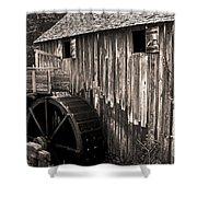 Old Appalachian Mill Shower Curtain