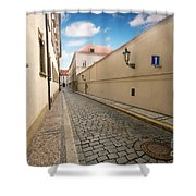 Old Architecture In Prague Shower Curtain