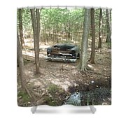 Old Auto Shower Curtain