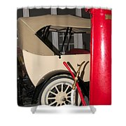 Old Automobile Shower Curtain