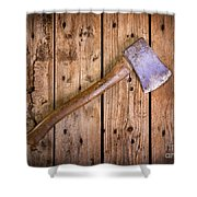 Old Axe Shower Curtain