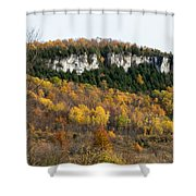Old Baldy In Fall Shower Curtain