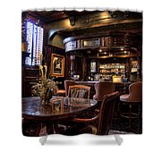 Old Bar In Charleston Sc Shower Curtain by David Smith