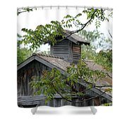 Old Barn 11 Shower Curtain