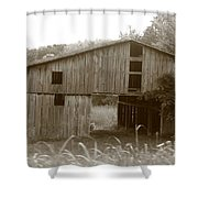 Old Barn 3 Shower Curtain
