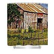 Old Barn #3 Shower Curtain