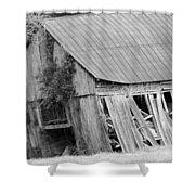 Old Barn 5 Shower Curtain