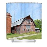 Old Barn 8008 Shower Curtain