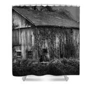 Old Barn Shower Curtain