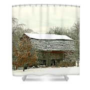 Old Barn Shower Curtain