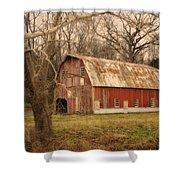 Old Barn Near Rhineland Mo Dsc09267 Shower Curtain