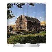 Old Barn On The Palouse Shower Curtain