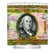 Old Ben Hundred Shower Curtain