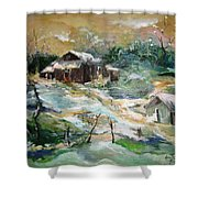 Old Bethpage Village Restoration Shower Curtain
