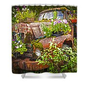 Old Truck Betsy Shower Curtain