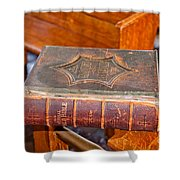 Old Bible Shower Curtain