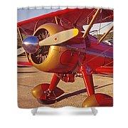 Old Biplane I I I Shower Curtain