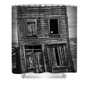 Old Bodie Building Shower Curtain