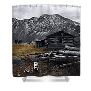 Old Boston Mine Shower Curtain