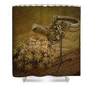 Old Brown Shoe Shower Curtain