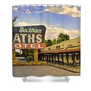 Old Buckhorn Baths Shower Curtain