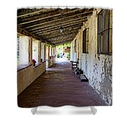 Old California Mission Shower Curtain