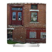 Old Cannery In Belfast Maine Img 6132 Shower Curtain