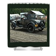 Old Car 2 Shower Curtain