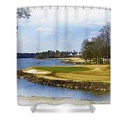 Old Carolina Golf Club Shower Curtain