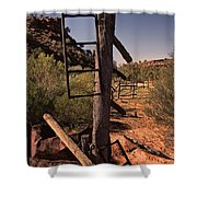 Old Cattle Station V2 Shower Curtain