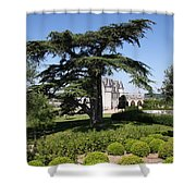 Old Cedar At Chateau Amboise Shower Curtain