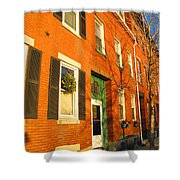 Old Charestown Neighborhood Shower Curtain