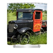 Old Chevrolet Truck Shower Curtain