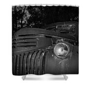 Old Chevy Truck 2 Shower Curtain