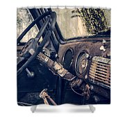 Old Chevy Truck Shower Curtain