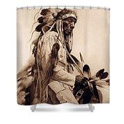 Old Cheyenne Shower Curtain