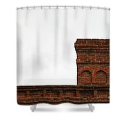 Old Chimney Shower Curtain