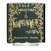 Old Christmas Shower Curtain