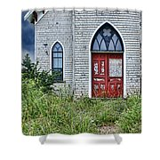 Old Church #1 Shower Curtain