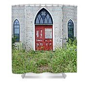 Old Church #2 Shower Curtain